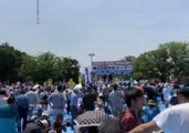Protesters Join May Day Rally in Tokyo Amid Row Over Constitution Proposals