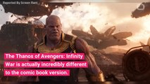 How Movie Thanos Is Different From Comic Book Thanos