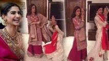 Sonam Kapoor - Anand Ahuja Wedding: Sridevi DANCING on Sonam's POPULAR song goes viral | FilmiBeat