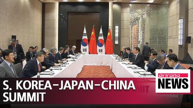 S. Korean Pres. Moon to visit Japan on May 9 for S. Korea, Japan, China Summit