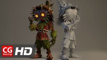 "CGI & VFX Breakdown HD ""Making of Majora's Mask - Terrible Fate Short Film"" by EmberLab 