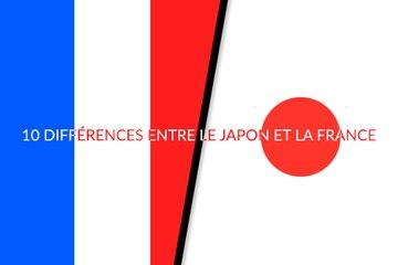 10 différences culturelles entre le Japon et la France