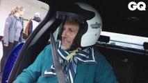 Au volant de la  Jaguar XE Project 8
