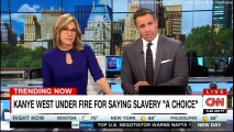 """Kanye West under fire for saying slavery """"A Choice"""". #KanyeWest #Breaking #DonaldTrump @kanyewest #ShameOnYouKanye #BreakingNews #Slavery @realDonaldTrump"""