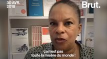 Le coup de gueule de Christiane Taubira sur l'accueil des réfugiés en France