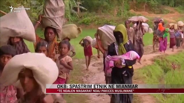 OKB: Spastrim etnik në Mianmar - News, Lajme - Vizion Plus