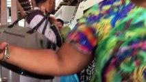 L'ambiance du départ de Doc Léo de #Mayotte pour le Runhanditour 2018 à l'île de #LaReunion #divrrsite  avec Cédric Bussmann #handicapables974