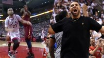 Lebron James SHUTS DOWN The Raptors And Sideline Bully Drake   2018 NBA Playoffs