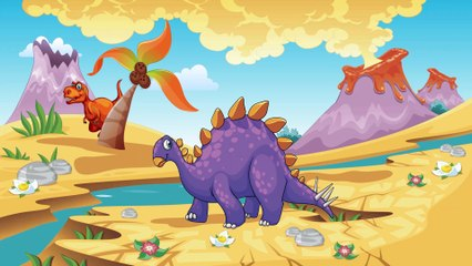 Funny Dinosaur Cartoons episode 1 Herbivores | Learning for Baby | Toon-O-Saur