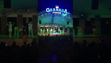 Valton Krasniqi live in Belek Antalya backstage