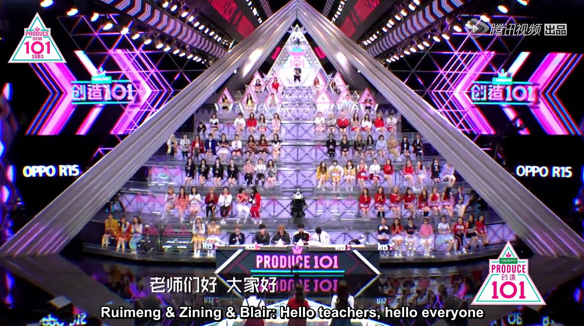 [ENG SUBS] Produce 101 China Episode 2 Part 1/3
