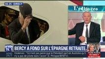 """ÉDITO - Réforme de Bercy: """"Si je mets de l'argent volontairement dans mon épargne retraite, il est déductible de mes revenus imposables"""""""