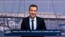 Dissolution de l'ETA : les basques tournés vers l'avenir