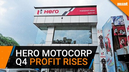 Hero MotoCorp Q4 profit rises 34.7% to Rs967.4 crore on strong rural demand