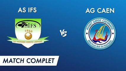 Régional 2 J19 : AS Ifs - AG Caen (match complet)