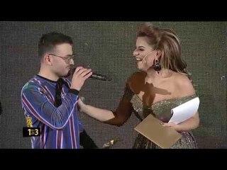 Best COLLAB Ardian Bujupi ft Capital T ANDIAMO - ZHURMA VIDEO MUSIC AWARDS 13 (2017)