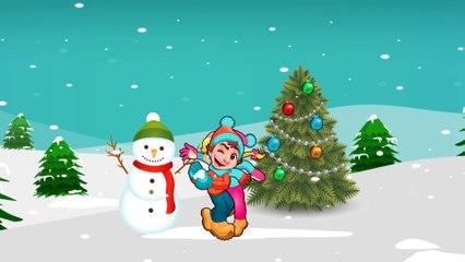 Дед Мороз и Снеговик - Обучающий мультик для самых маленьких про Новый Год