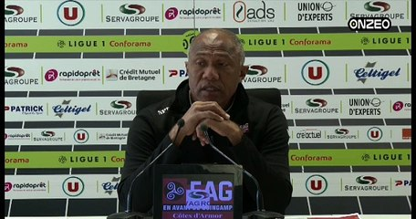 POINT PRESSE (EAG) : AVANT DIJON - GUINGAMP