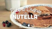 Une pâte à crêpes au Nutella  Il n'y a pas de saison pour les crêpes non ?Toutes nos recettes de crêpes ici :