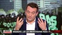 """1er Mai : Pour Florian Philippot, les débordements """"peuvent se comprendre"""" puisque """"nous n'avons plus de frontières, plus de contrôle"""""""