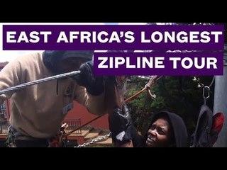 This is East Africa's Longest Zipline