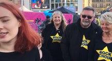 Rock Choir sing celebration of Tour De Yorkshire