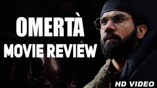 Omertà Movie Review | Rajkummar Rao | Hansal Mehta |