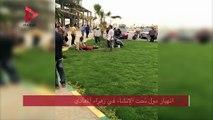 انهيار مول تحت الإنشاء في زهراء المعادي