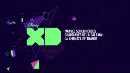 """PROMO 4 """"MARVEL SUPERHÉROES GUARDIANES DE LA GALAXIA: LA AMENAZA DE THANOS"""" EN DISNEY XD"""