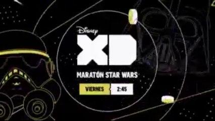 "PROMO ""MARATÓN STAR WARS"" EN DISNEY XD"