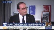 """""""Je reste un homme engagé, et je le serai jusqu'au dernier jour de ma vie"""", assure François Hollande"""