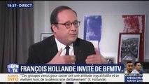 """""""Ne laissez pas penser que le dirige""""Ne laissez pas penser que le dirigeant du pays doit être un personnage qui vient de nulle part"""" affirme François Hollandeant du pays doit être un personnage qui vient de nulle part"""""""