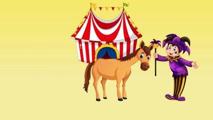 Динозаврик Дэнни - Зебра, Лошадь (серия 20) - Развивающие мультики для самых маленьких