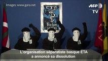 Dissolution de l'ETA: les Basques veulent panser les plaies