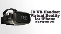 3D VR Headset Virtual Reality for iPhone_1.0 - Vridium Neo 3D Virtual Reality Headset Review!