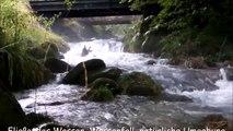 Fließendes Wasser, Wasserfall, natürliche Umgebung Sound und Lärm, Entspannung, Schlafen, Beruhigung, Zen, Yoga - 30 Minuten
