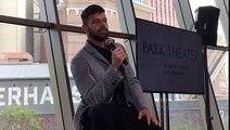 """Ricky Martin: """"tenemos que buscar cualquier excusa para dar amor y esperanza"""""""