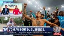 """Une finale OM-Atlético: """"C'est indescriptible, c'est la folie à Marseille"""" (supporter de l'OM)"""