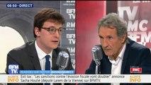 """""""Les députés France insoumise ont pu encourager les violences"""" affirme Sacha Houlié, député LaRem"""