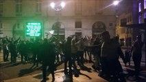 Les supporters bisontin de l'OM célèbrent la qualification de Marseille pour la finale de la Ligue Europa