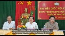 Ông Phùng Xuân Nhạ: Hỗ trợ cải cách giáo dục