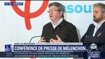 """Jean-Luc Mélenchon: """"M.Macron est entré dans la phase où il veut être le porte-parole de la droite (...) puis se l'est joué à la Thatcher"""""""