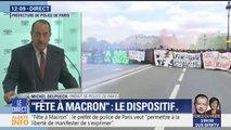 """""""Fête à Macron"""" : """"Le dispositif que nous mettons en place est un dispositif d'ampleur"""", prévient le préfet de police"""