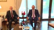 Bakan Çavuşoğlu Iraklı mevkidaşı Caferi ile bir araya geldi - ANKARA