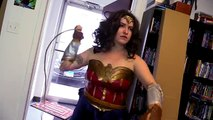 Wonder Woman Review Bloopers