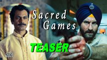 """Sacred Games"" TEASER  Saif & Nawaz plays Dangerous game"