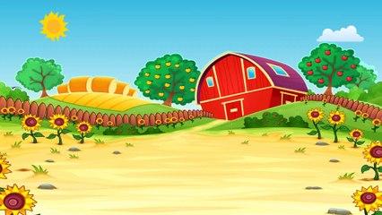 Ферма - Обучающий мультик для самых маленьких о животных