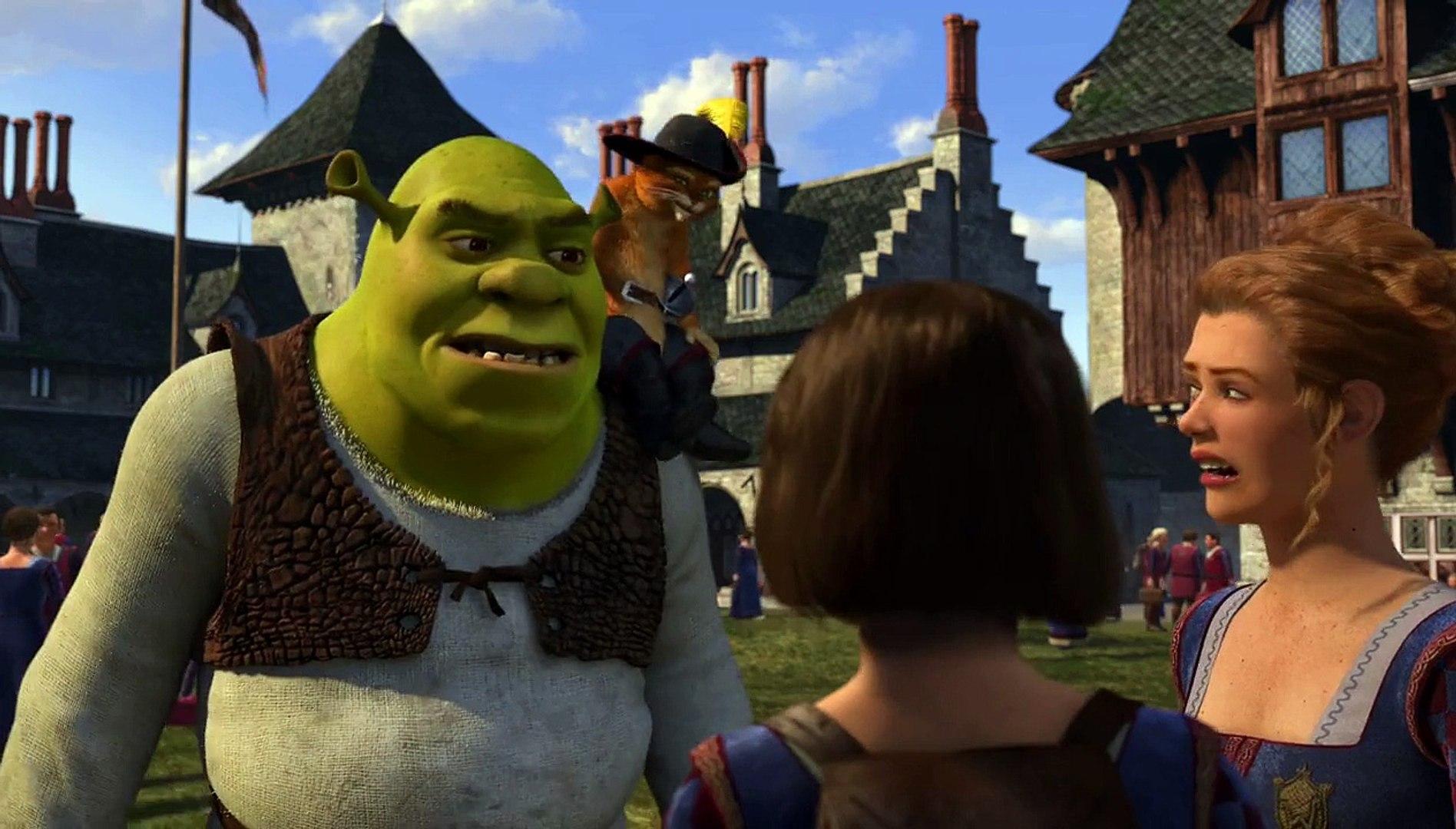 Shrek The Third Trailer 2 2007 Video Dailymotion