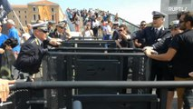 Torn apart! Venice checkpoints segregate tourists from locals