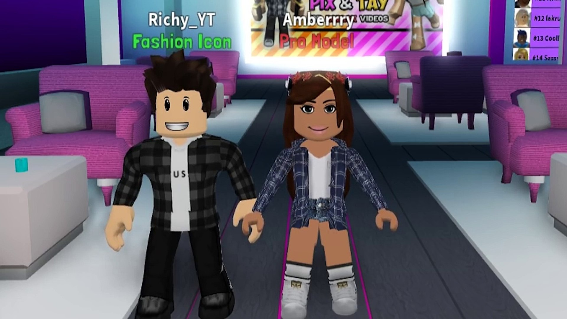 Gender Swap Challenge On Fashion Famous Roblox Dailymotion Video